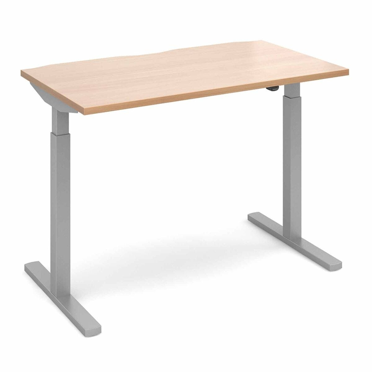 Elev8 Mono Straight Sit Stand Desk 1400mm x 800mm