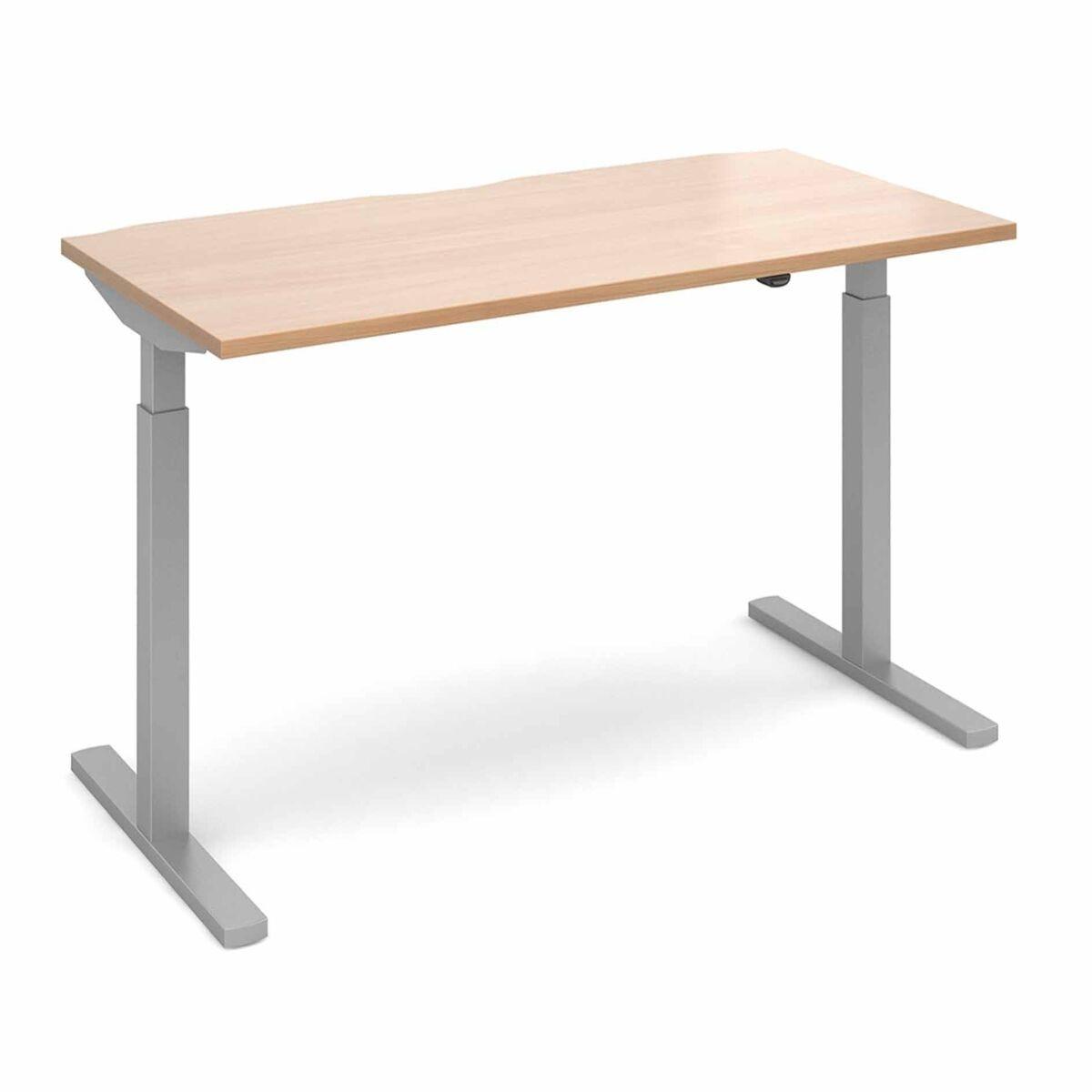 Elev8 Mono Straight Sit Stand Desk 1600mm x 800mm