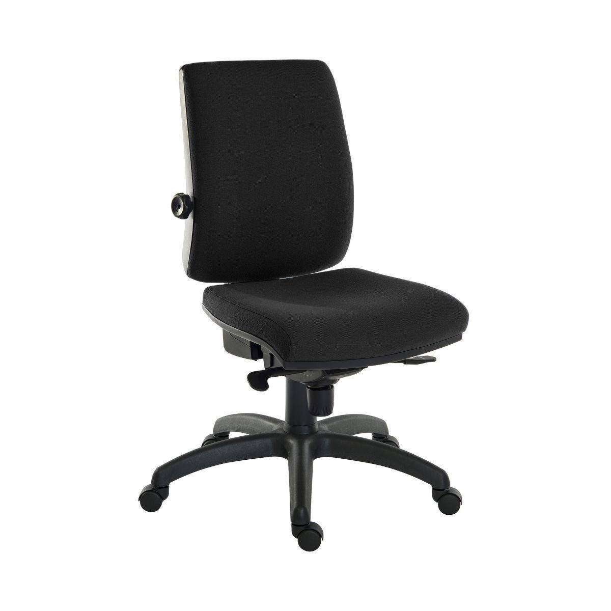 Teknik Office Ergo Plus 24 Hour Ergonomic Executive Operator Chair Black