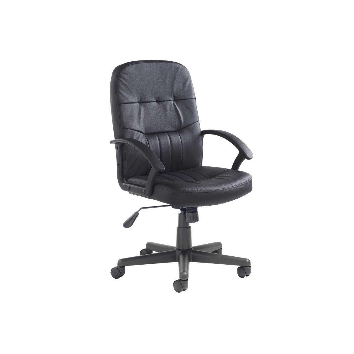 Cavalier Leather Faced Office Chair