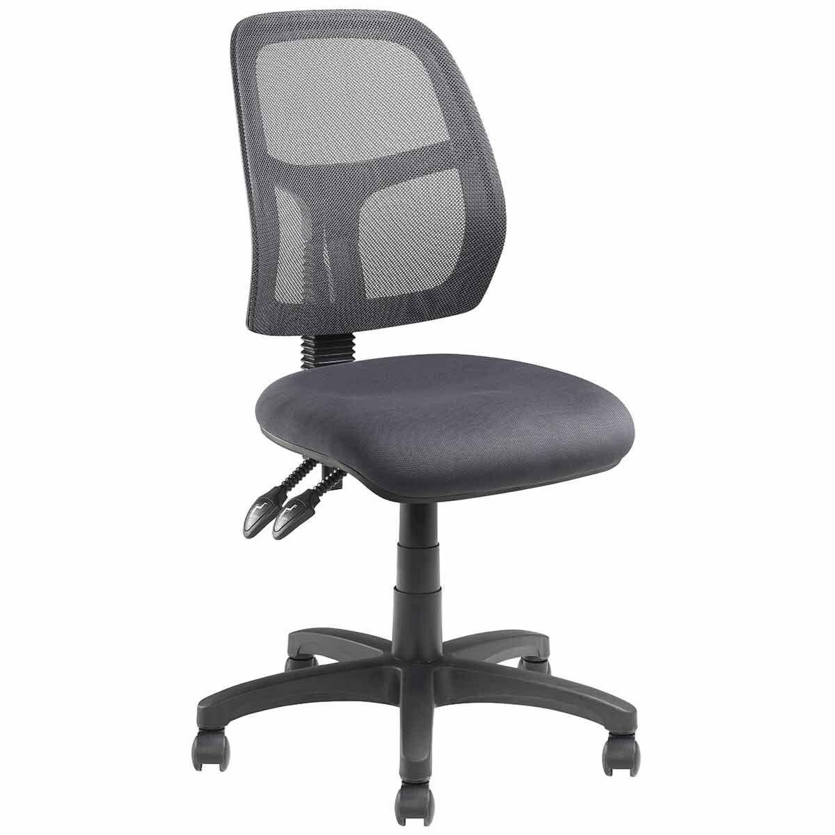 Pago Jet II Mesh Ergonomic Twin Lever Operator Chair Charcoal
