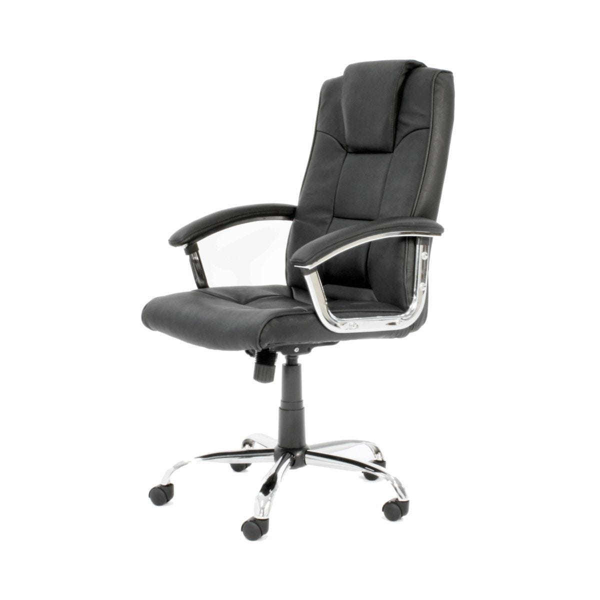Houston High Back Leather Faced Executive Chair