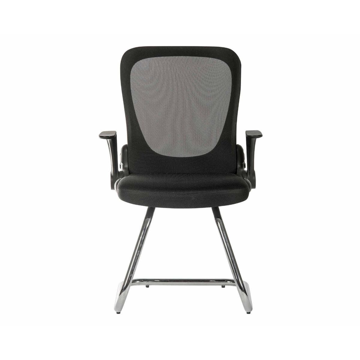Teknik Flip Mesh Visitor Chair