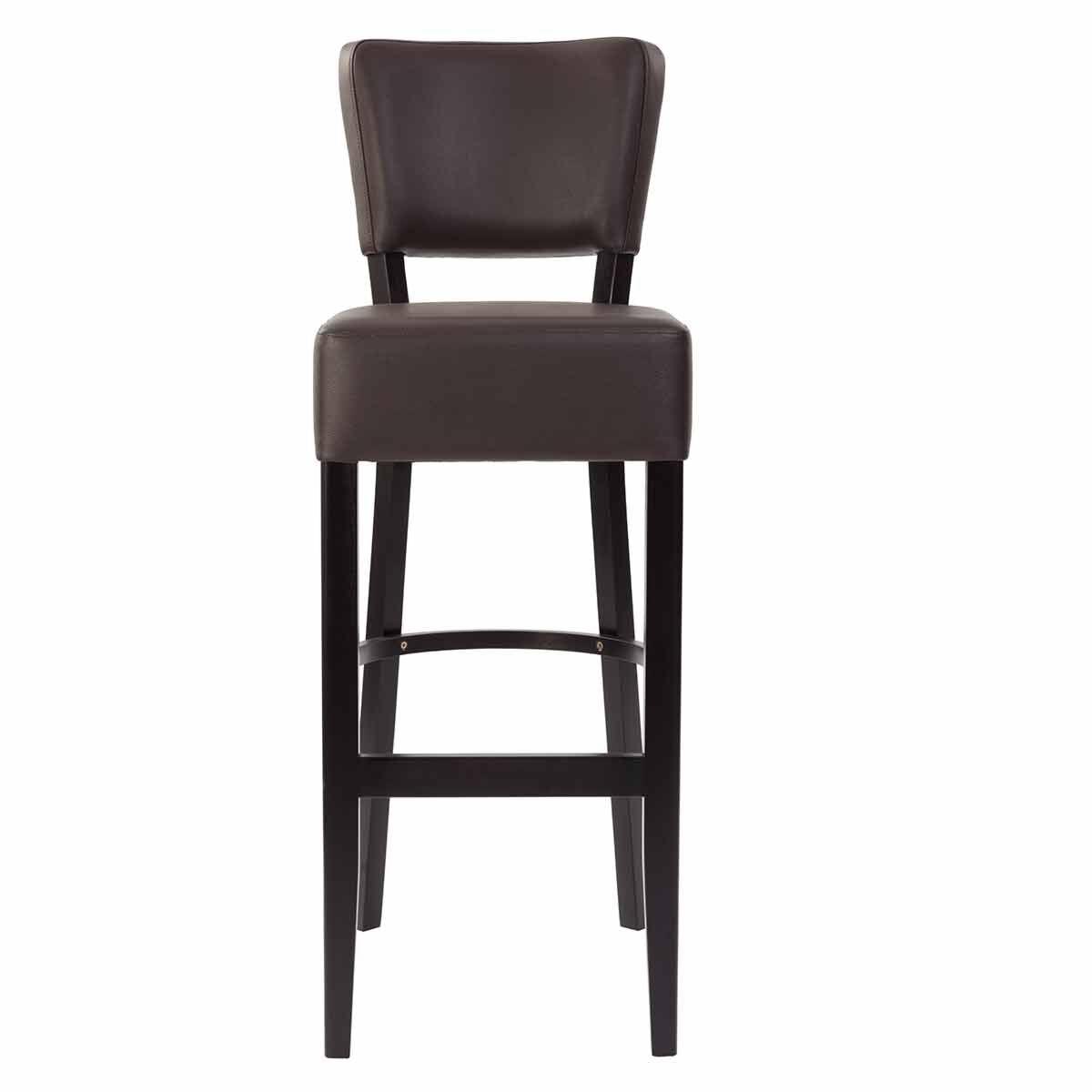 Tabilo Sena Faux Leather Bar Chair Brown