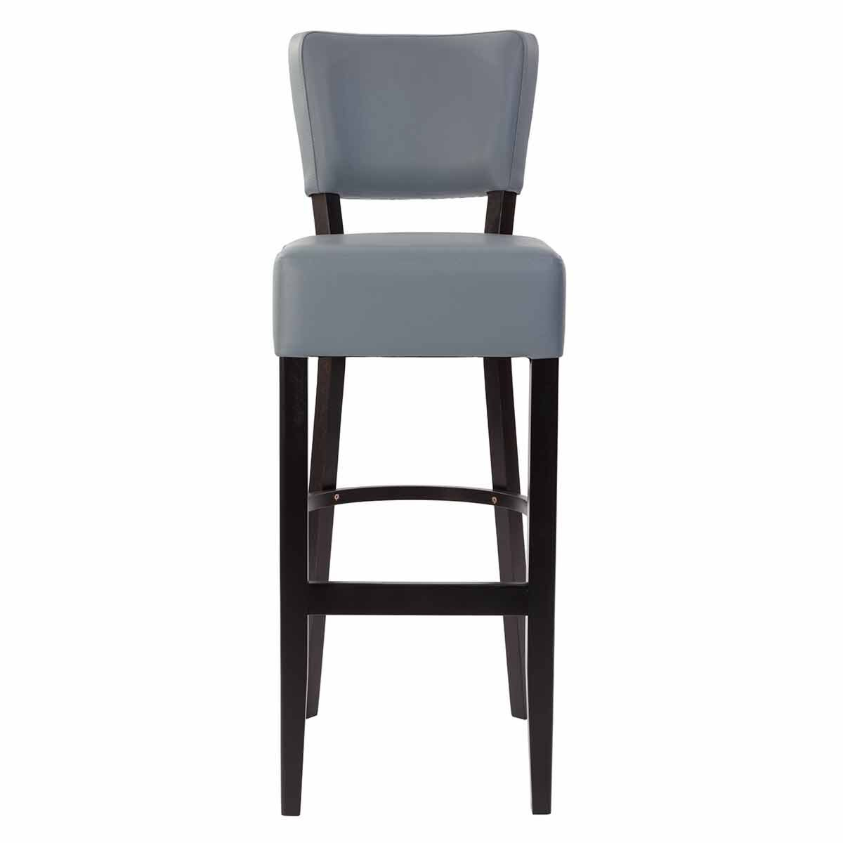 Tabilo Sena Faux Leather Bar Chair Grey