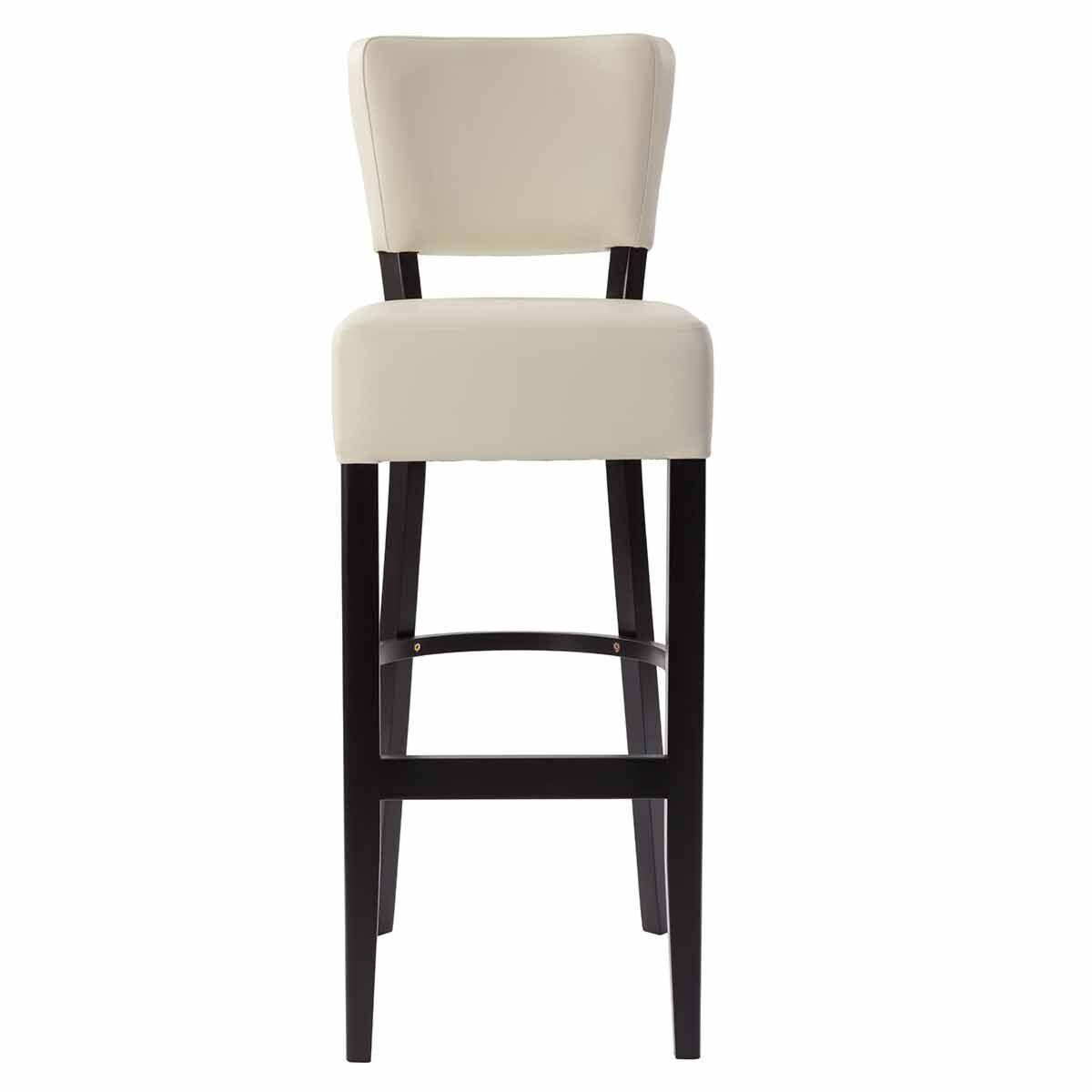 Tabilo Sena Faux Leather Bar Chair Cream