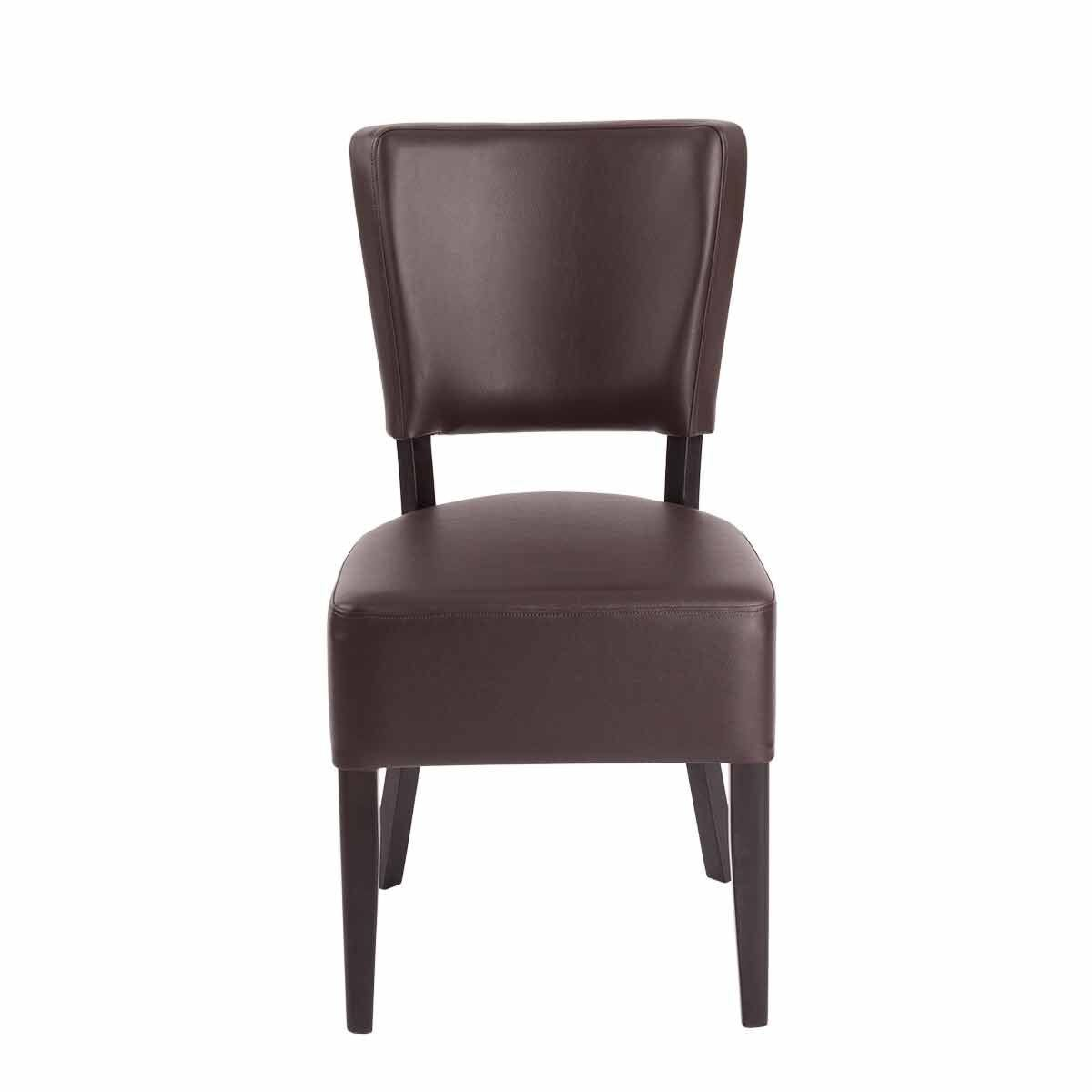Tabilo Sena Faux Leather Dining Chair Brown