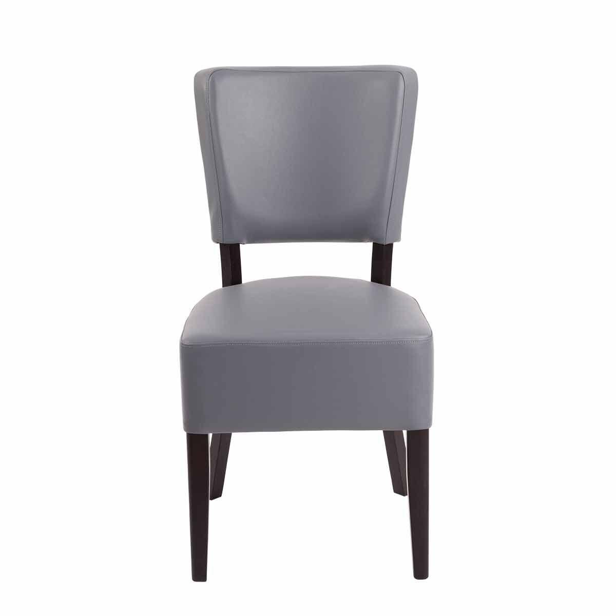 Tabilo Sena Faux Leather Dining Chair Grey