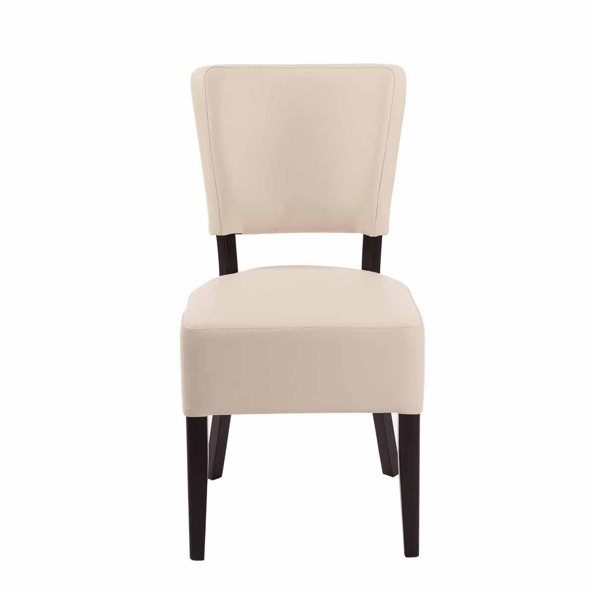 Tabilo Sena Faux Leather Dining Chair Cream
