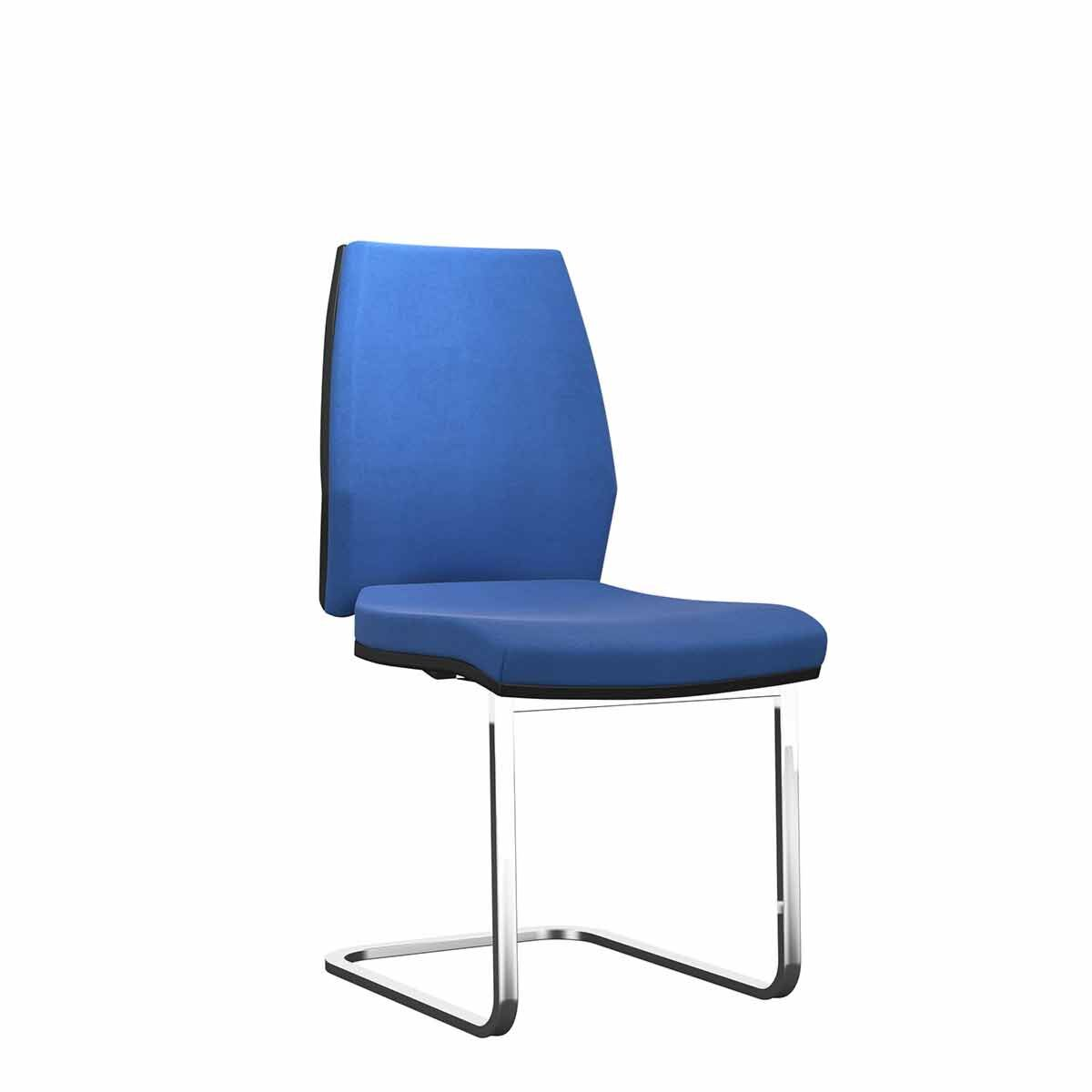 TC Office Rome Visitor Chair Blue
