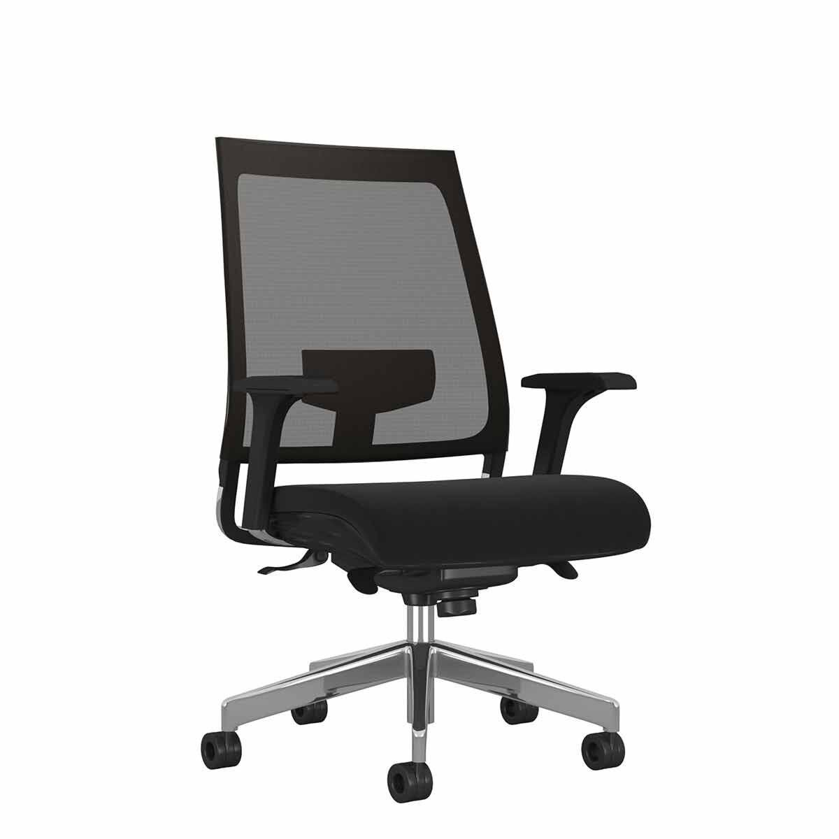 TC Office Willow Mesh Chair Black