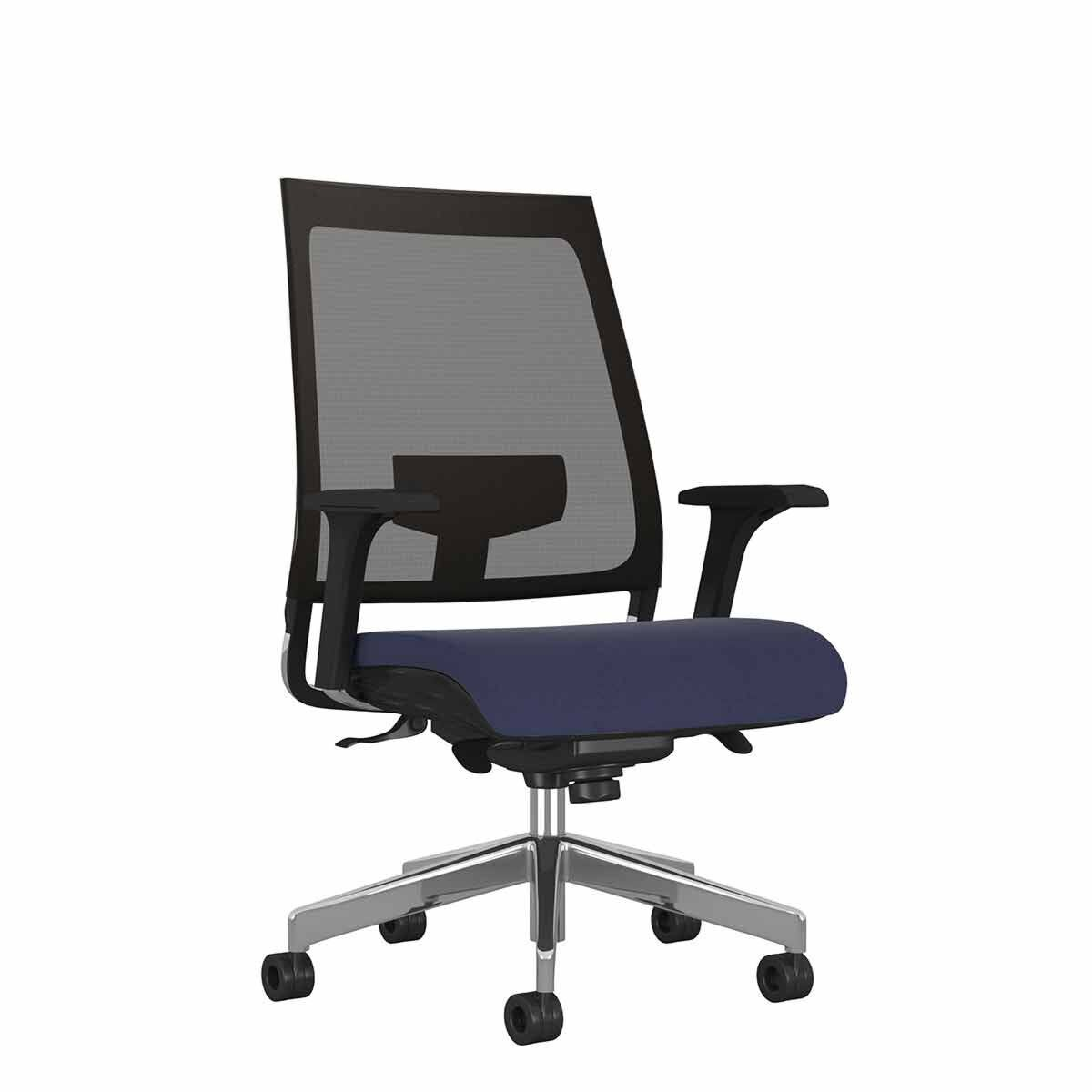 TC Office Willow Mesh Chair Blue
