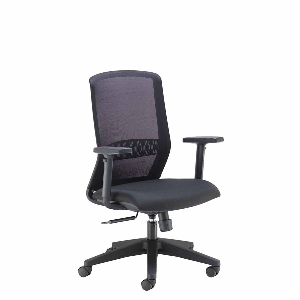 TC Office Spark Mesh Chair with Synchronized Sliding Seat