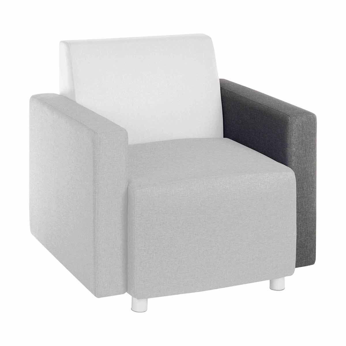 Teknik Office Cube Modular Reception Chair Arm Left or Right