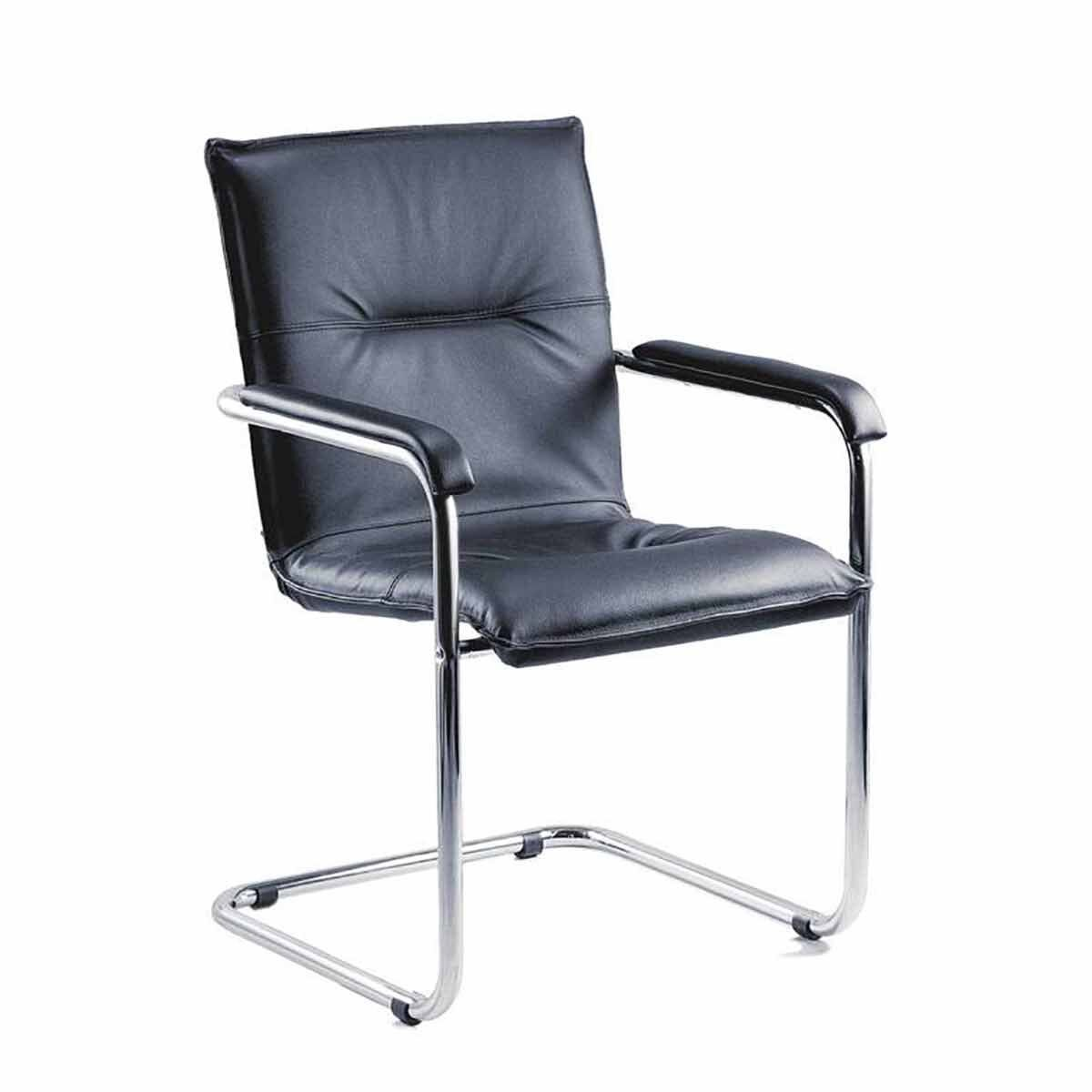 Teknik Office Envoy Stylish Leather Faced Boardroom Chair Pack of 2
