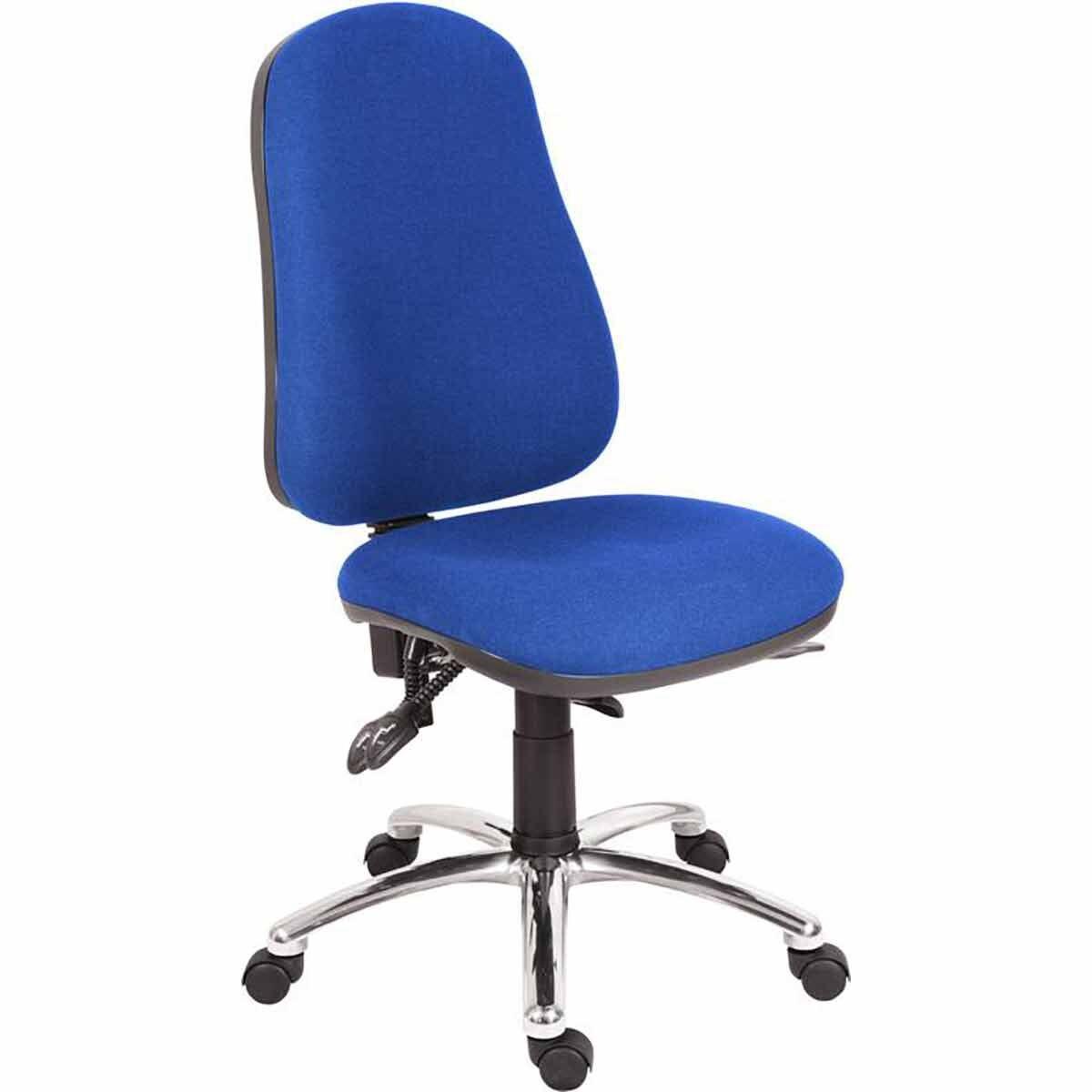 Teknik Office Ergo Comfort Steel Chair Blue