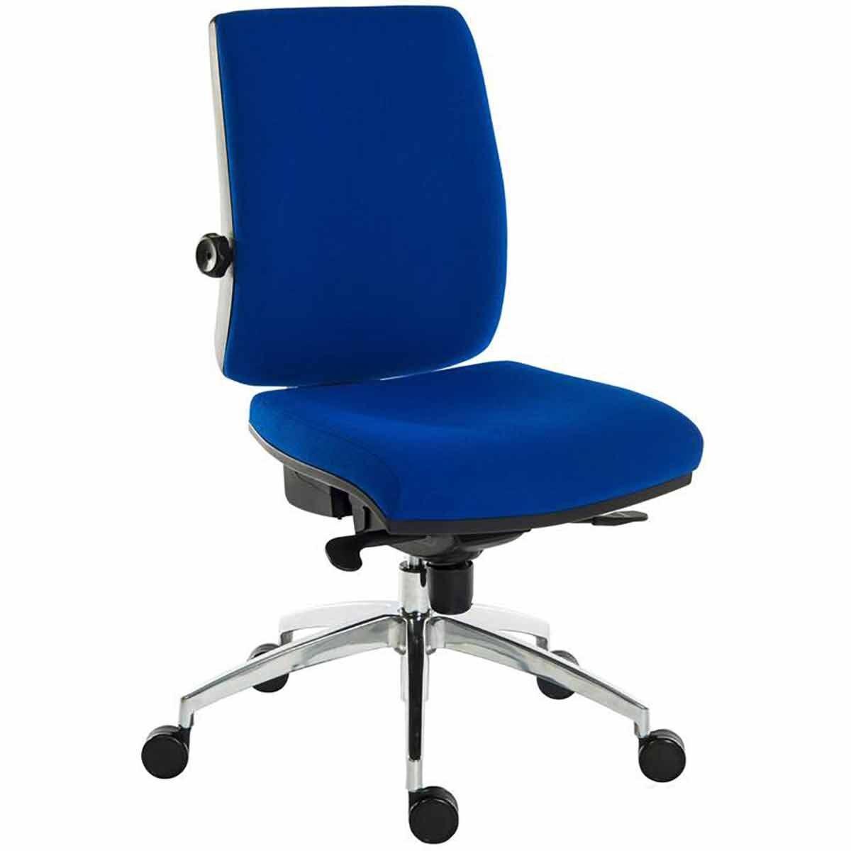 Teknik Office Ergo Plus Premier Fabric Operator Chair Blue