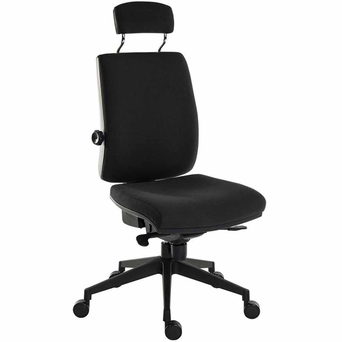 Teknik Office Ergo Plus Ultra Fabric Chair with Headrest