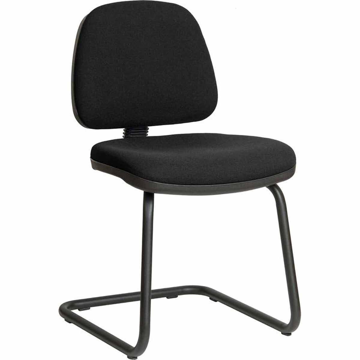 Teknik Office Ergo Fabric Visitor Chair Black
