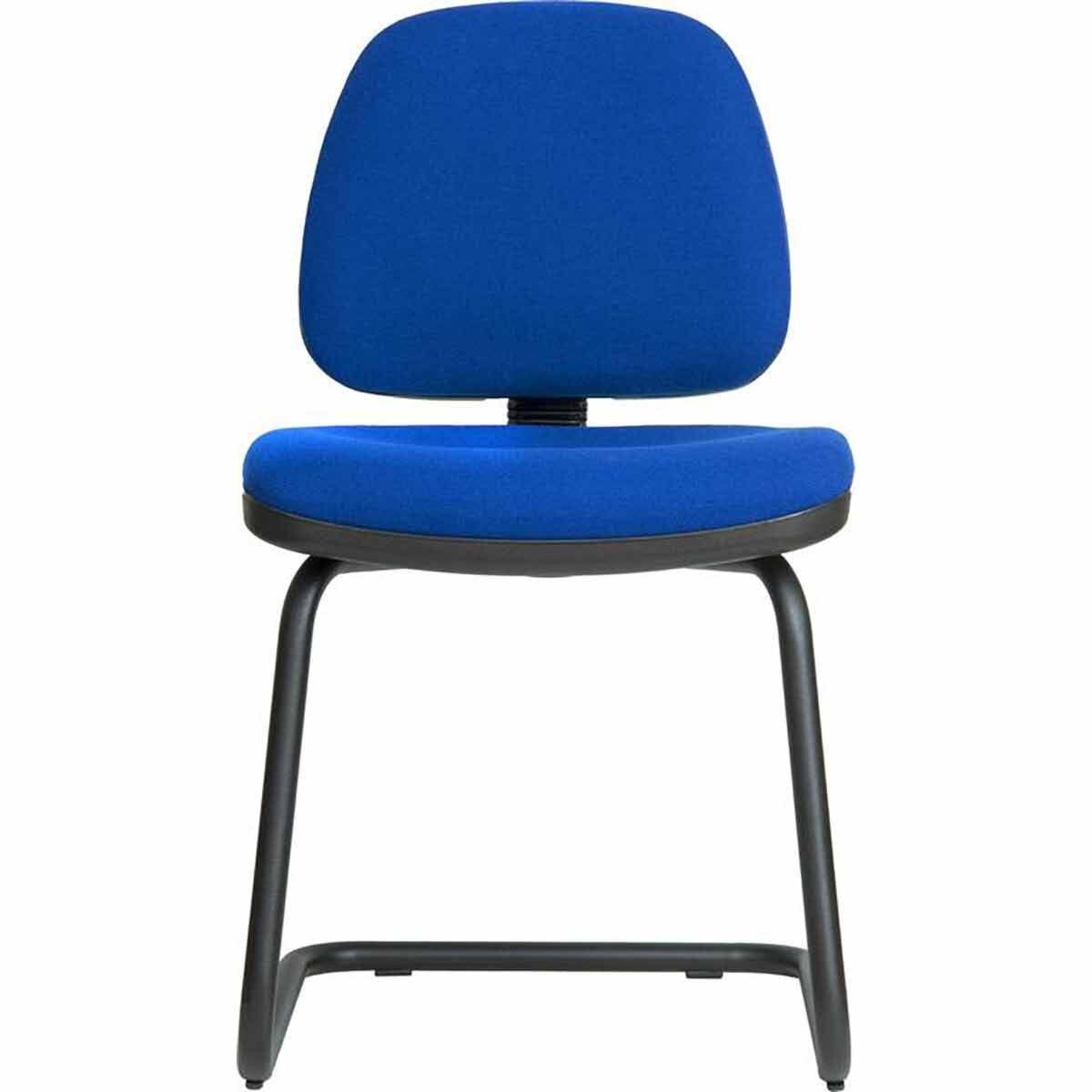 Teknik Office Ergo Fabric Visitor Chair Blue