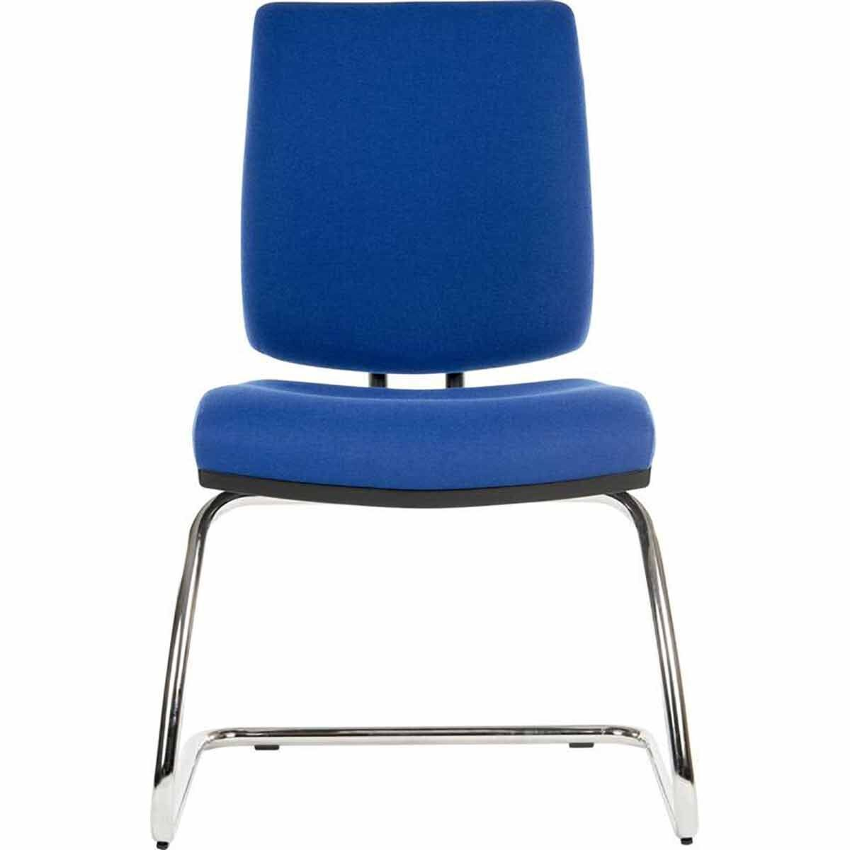 Teknik Office Ergo Deluxe Fabric Visitor Chair Blue