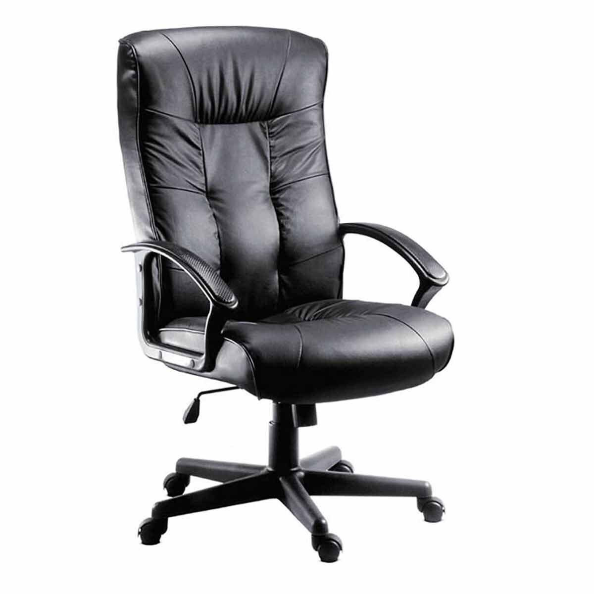 Teknik Office Gloucester Leather Faced Executive Chair