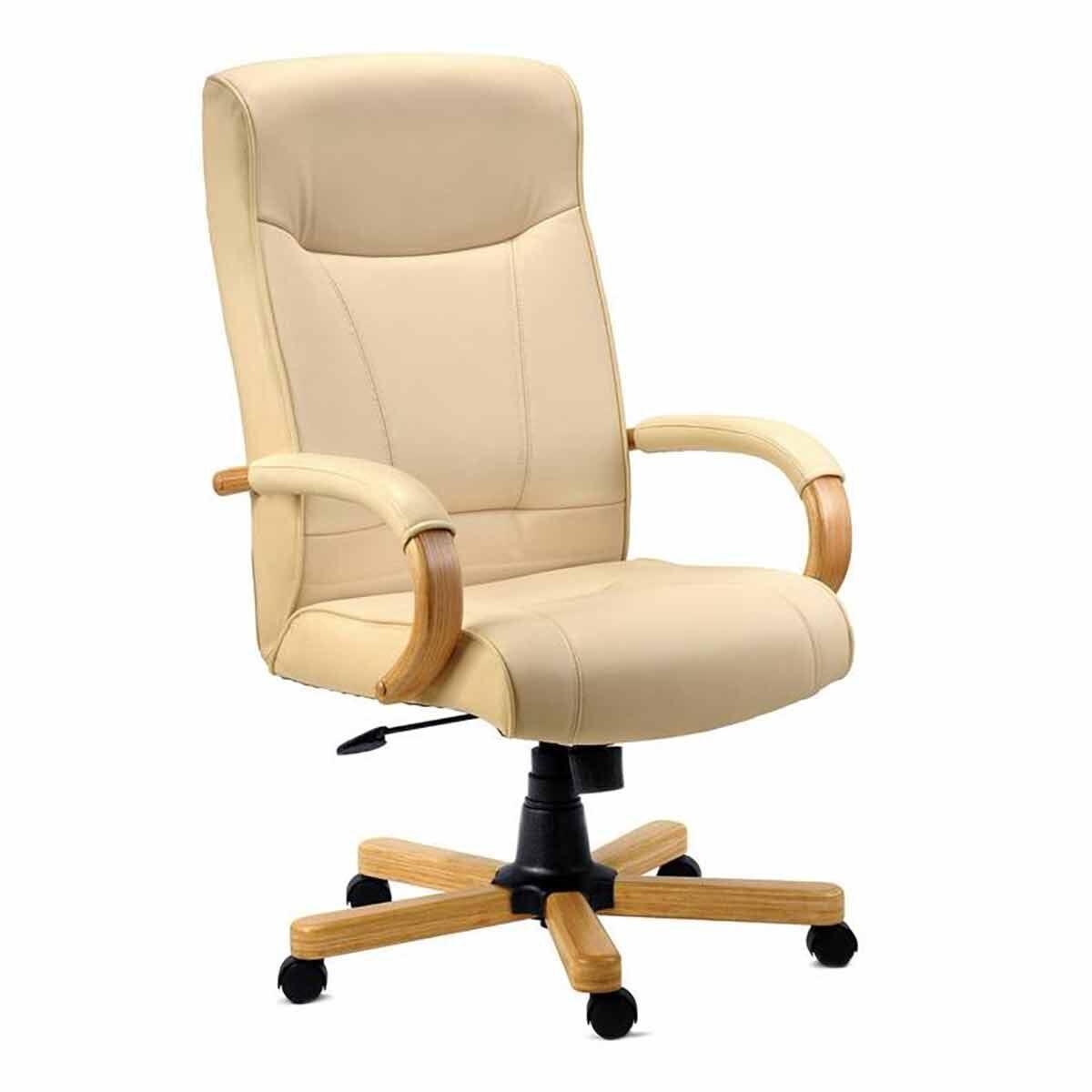 Teknik Office Knightsbridge Bonded Leather Executive Armchair