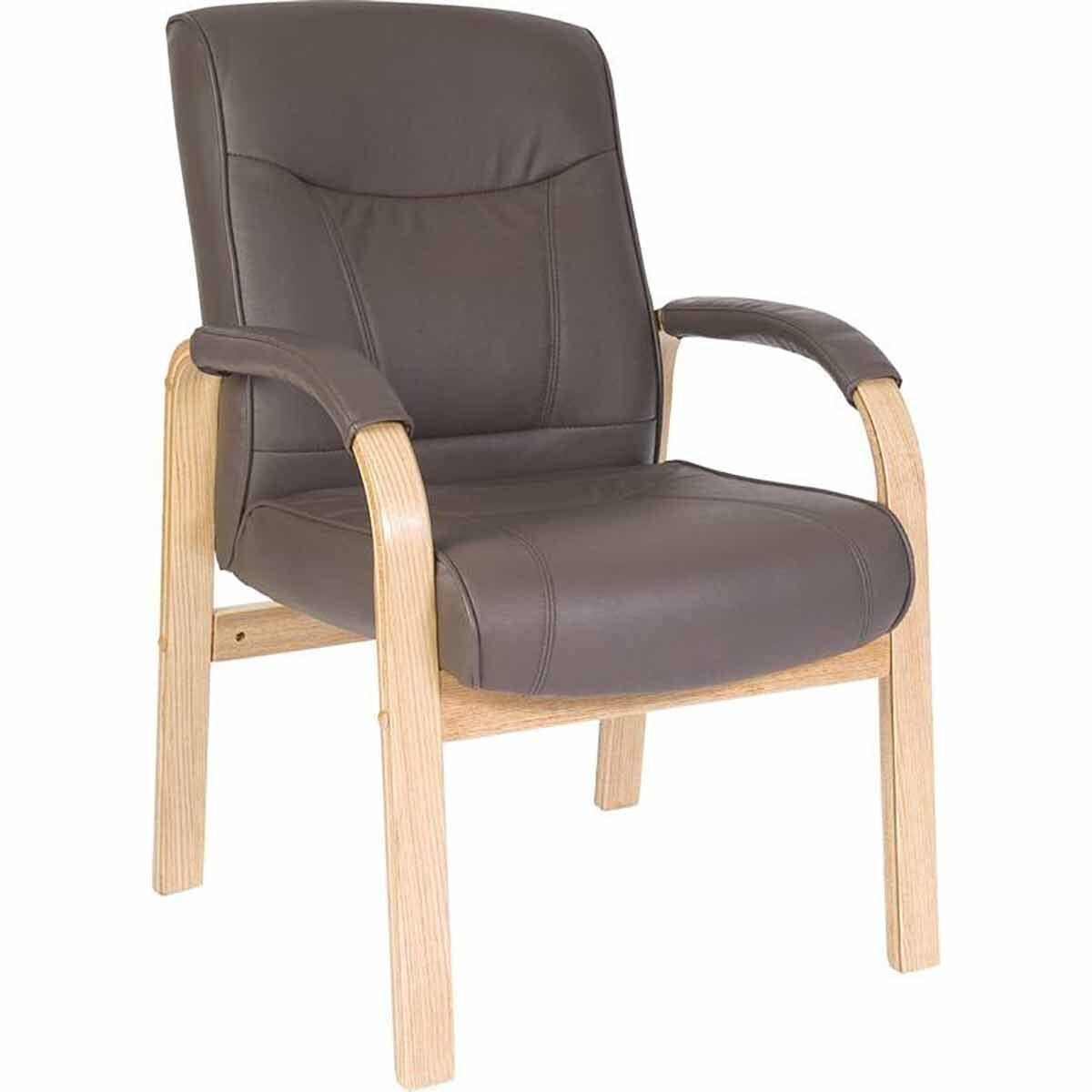 Teknik Office Richmond Bonded Leather Visitor Chair