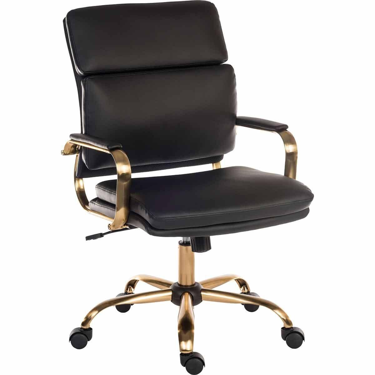 Teknik Office Vintage Executive Leather Look Chair