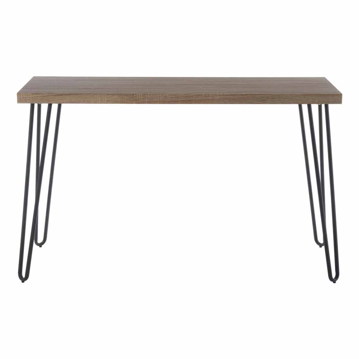 Interiors by PH Console Table with Hairpin Legs