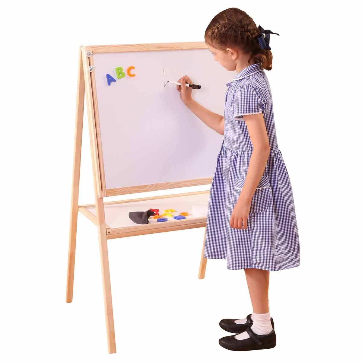 Liberty House Toys Childrens Height Adjustable Double Sided Easel