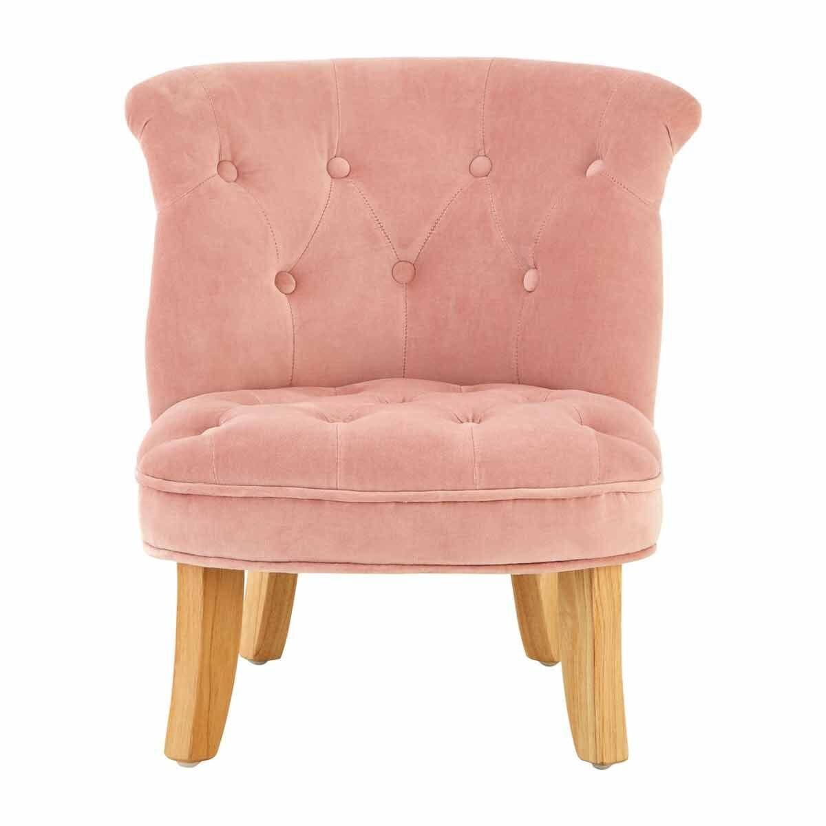 Premier Kids Estelle Velvet Chair