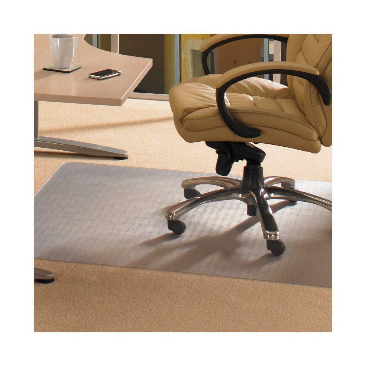PVC Advantage Carpet Chairmat Rectangular Shape 120cm x 90cm