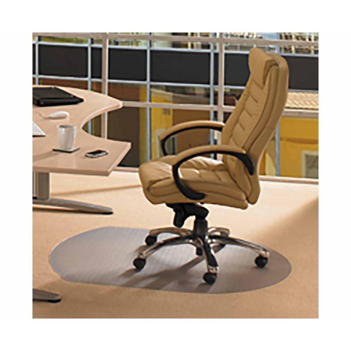 Cleartex Advantagemat Chair Mat for Low Pile Carpet Contoured 99 x 125cm