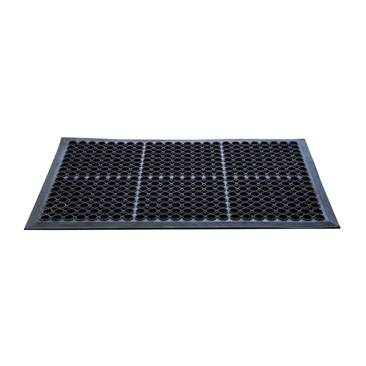 Doortex Open-Top Anti-Fatigue Mat 90 x 150cm Black