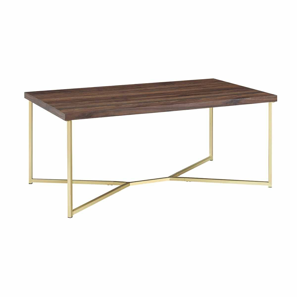 Portici Mid Century Modern Coffee Table