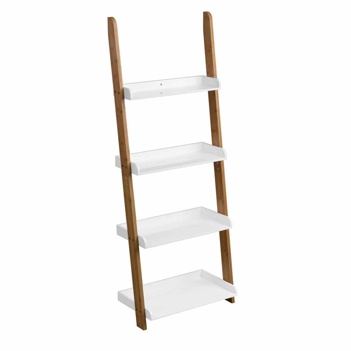 Premier Housewares Nostra 4 Tier Shelf Ladder Unit