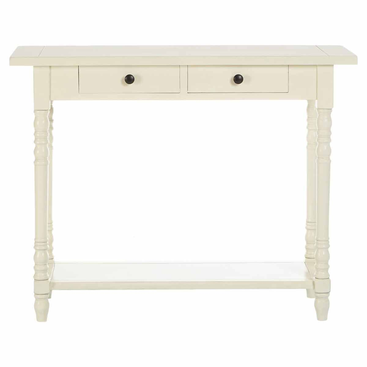 Premier Housewares Heritage Console Table with 2 Drawers