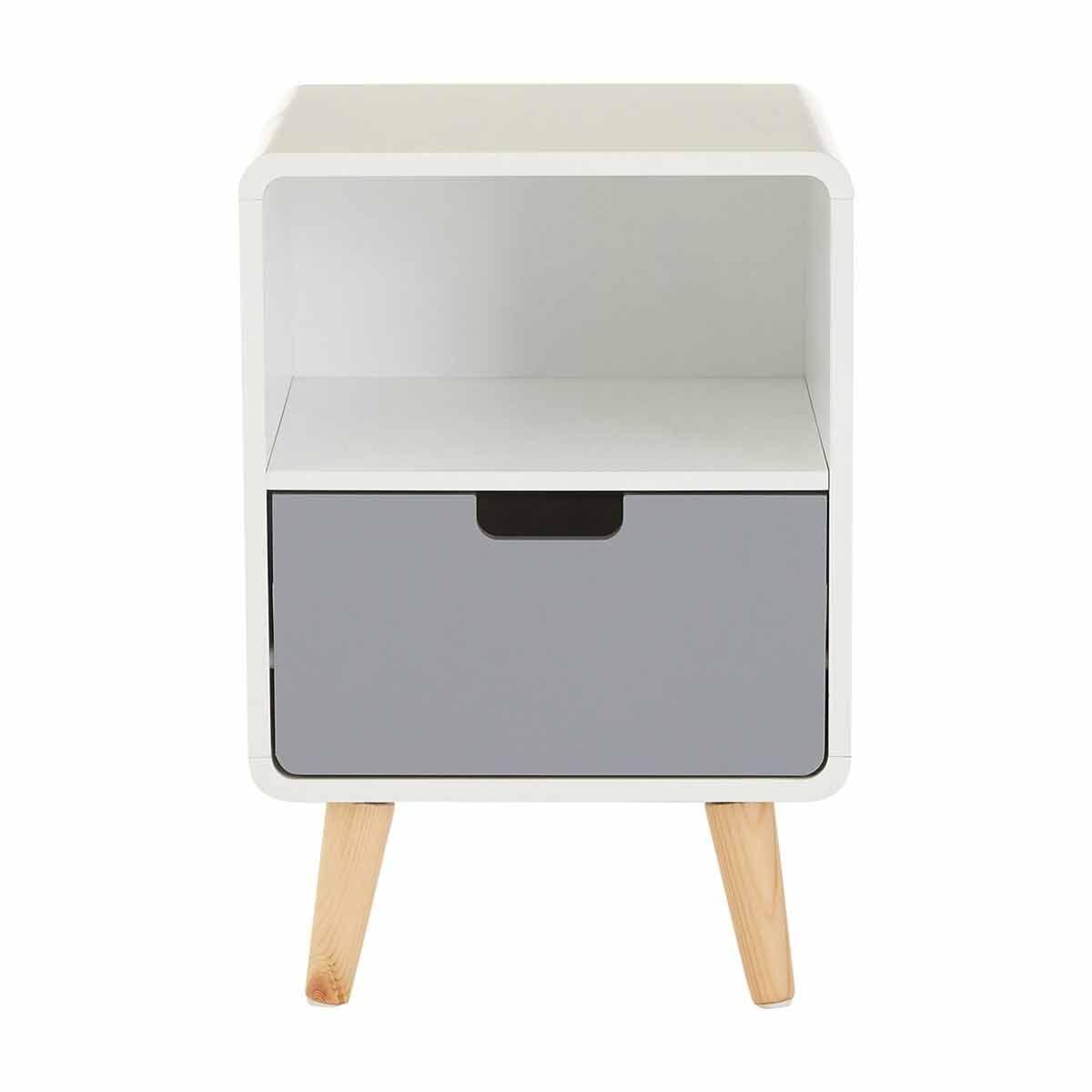 Premier Housewares Milo 1 Drawer Cabinet with Shelf