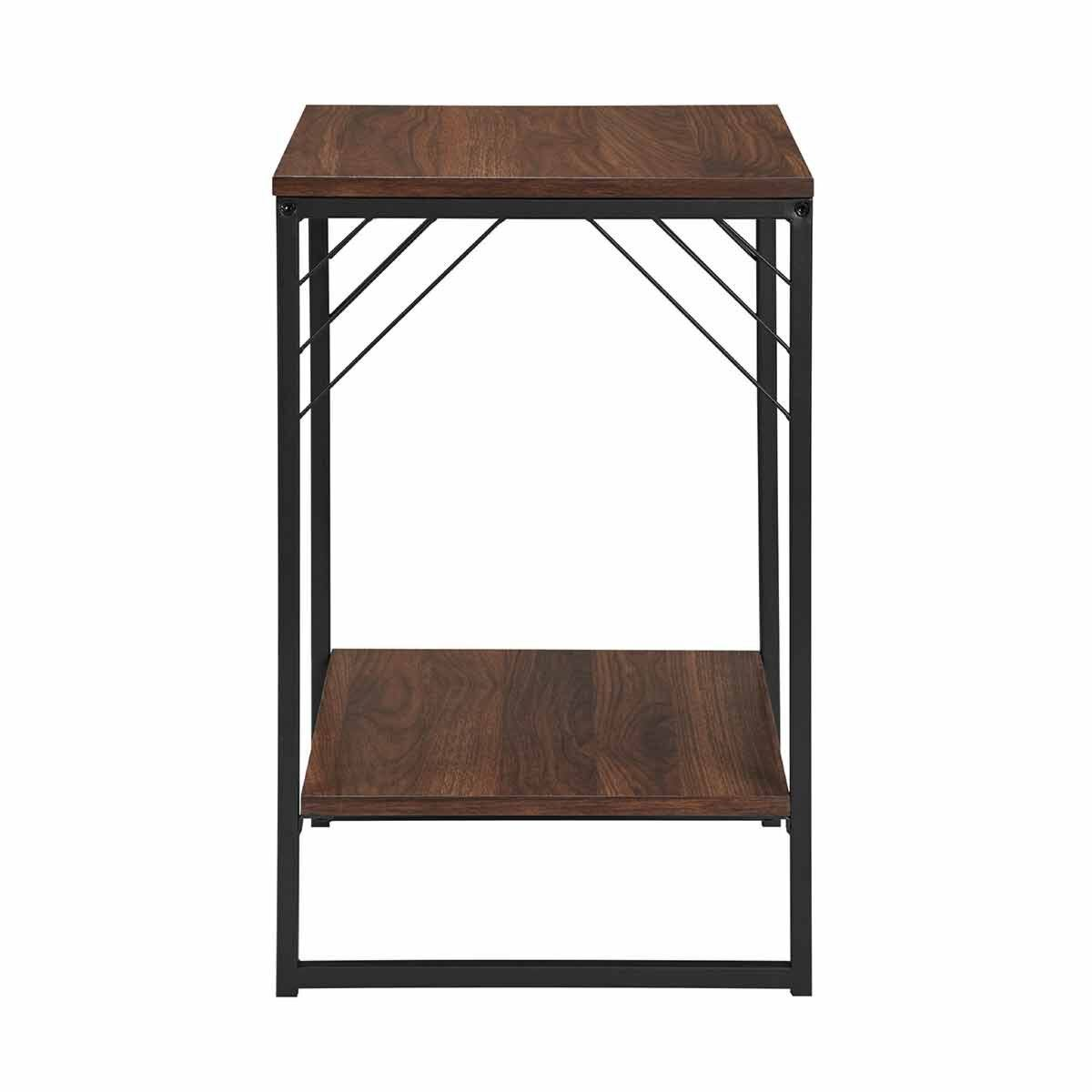 Austin Metal Accent Square Side Table