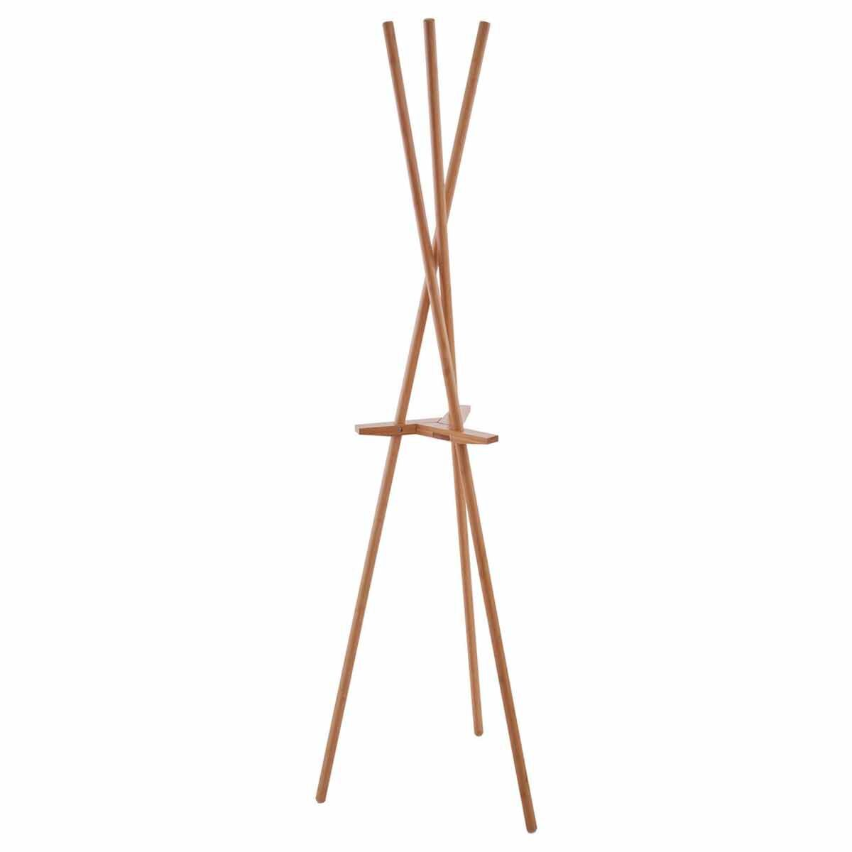 Premier Housewares Bamboo Coat Stand