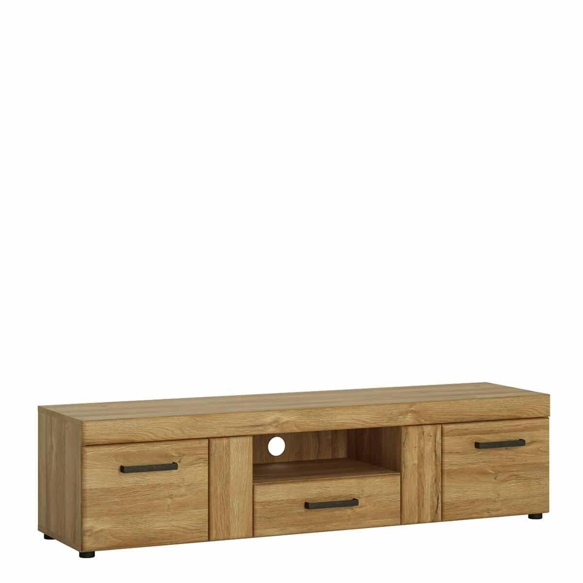Cortina 2 Door 1 Drawer Wide TV Cabinet