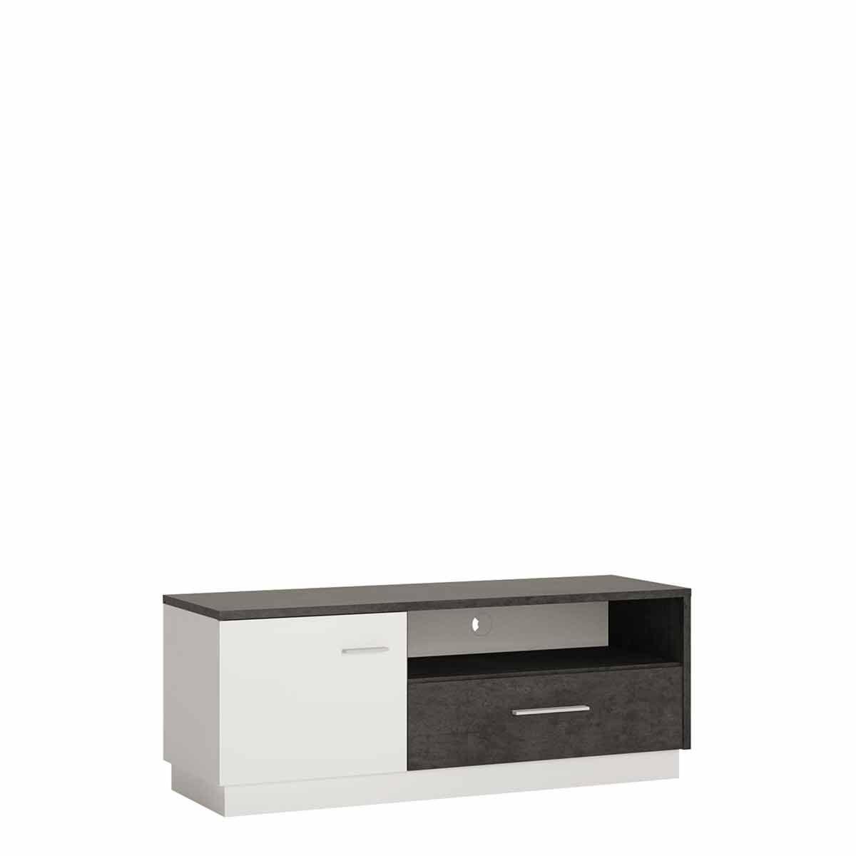 Zingaro 1 Door 1 Drawer TV Cabinet