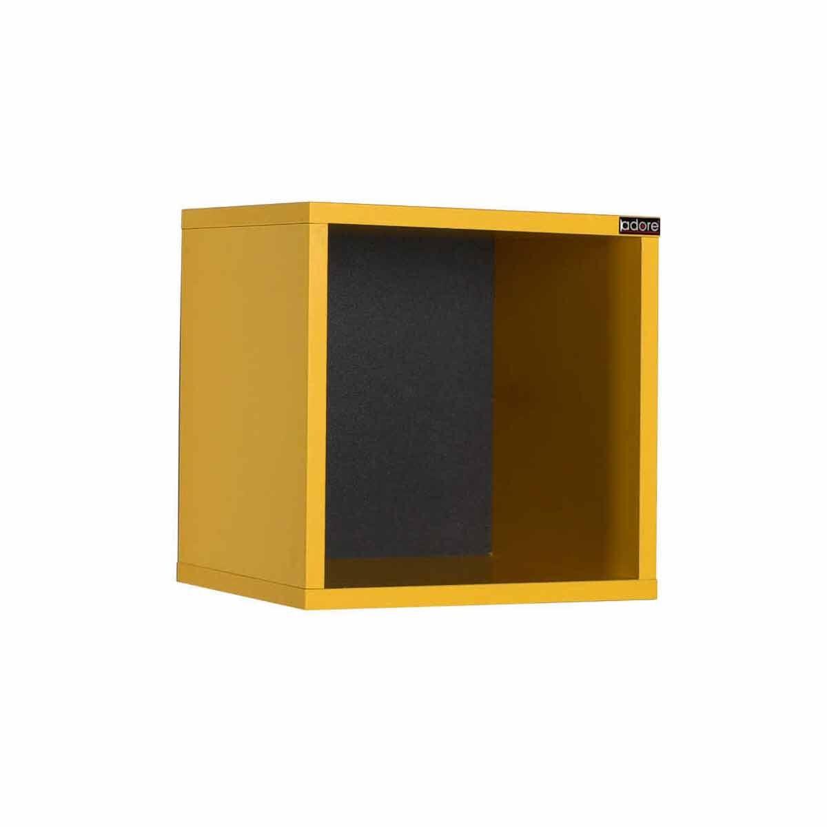 Max Cube Wall Mounted Shelf Yellow