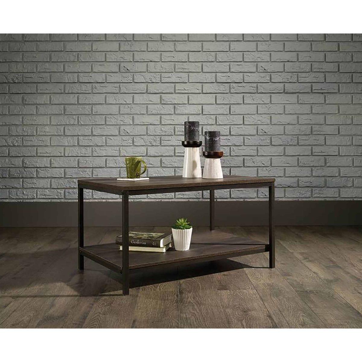 Teknik Office Industrial Style Coffee Table Oak