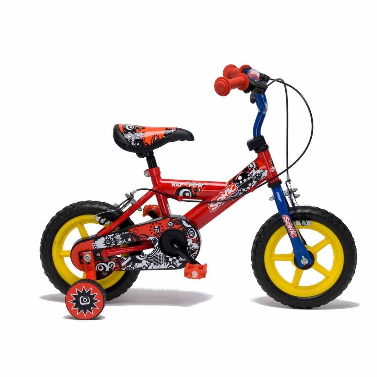 Sonic Kap-Pow Boys Bike 12 Inch Wheel