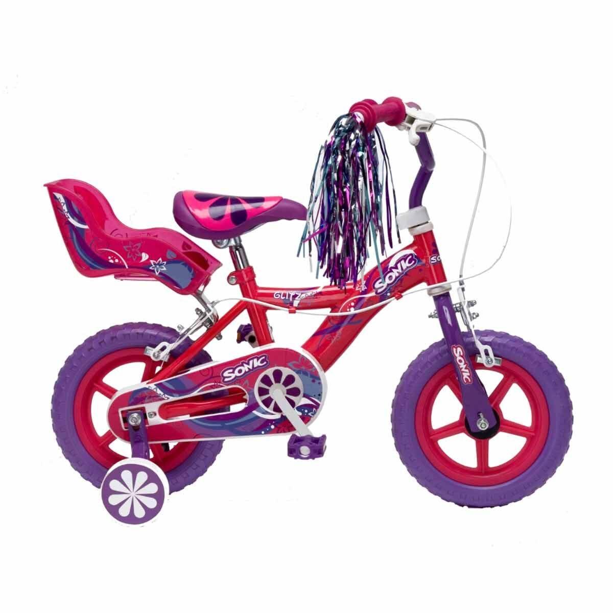Sonic Glitz Girls Bike 12 Inch Wheel