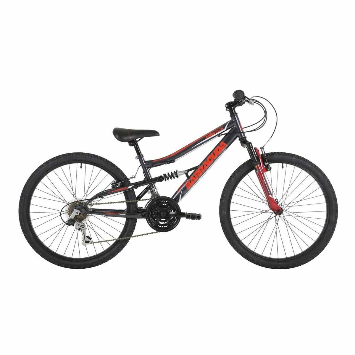 Barracuda Draco Dual Suspension Kids Bike 24 Inch Wheel