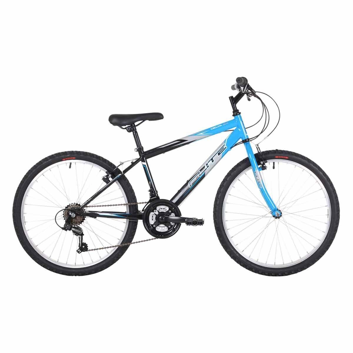 Flite Delta Kids Mountain Bike 24 Inch Wheel Blue