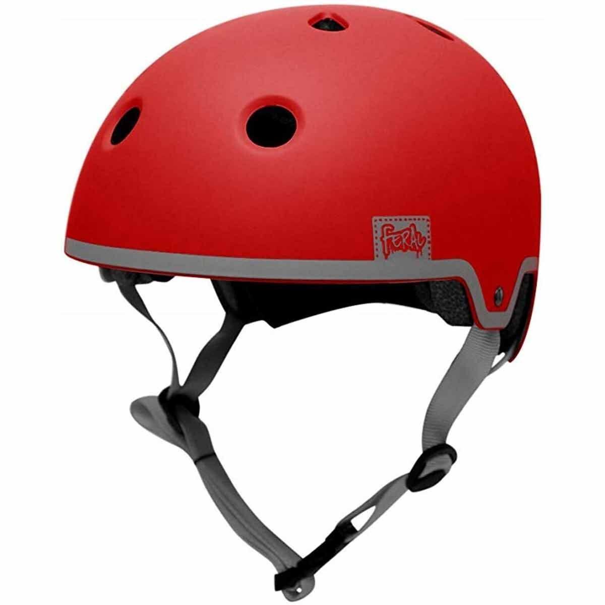 Ferel Park Junior Bicycle Helmet 54-58cm Red